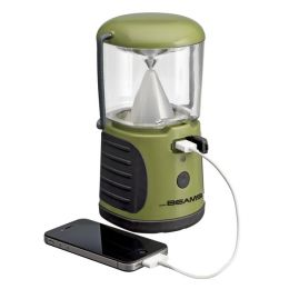 Mr Beams LED Laterne mit USB Anschluss grün MB470