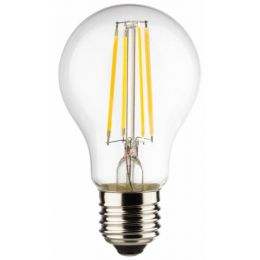 LED Birnenlampe als 40W Ersatz E27 827 NODIM