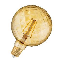 Osram LED Globelampe Vintage 1906 Pinecone 4,5W (40W) E27 825 360° NODIM gold