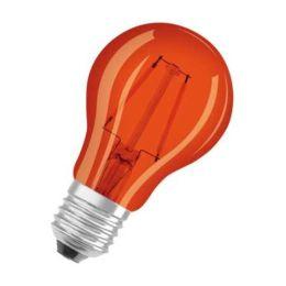 Osram orangene LED Tropfenlampe Star Decor Classic P 1,6W E27 NODIM