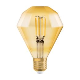 Osram LED Lampe Diamond Vintage Edition 1906  4,5W (40W) E27 825 360° NODIM gold
