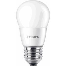 Philips LED Tropfenlampe CorePro 7W (60W) E27 827 360° NODIM matt