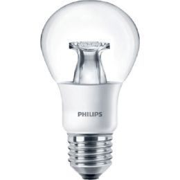 Philips LED Birnenlampe MASTER 6W (40W) E27 827-822 300° DIMTONE klar