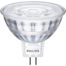 Philips Niedervolt CorePro LED Spot MR16 3W (20W) GU5,3 827 36° NODIM
