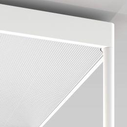 Serien Lighting REFLEX² Reflektor M aus Plexiglas Pyramidenstruktur weiß