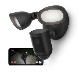 Ring Floodlight CAM Wired Pro – smarte Outdoor Überwachungskamera in schwarz