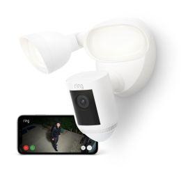 Ring Floodlight CAM Wired Pro – smarte Outdoor Überwachungskamera in weiß