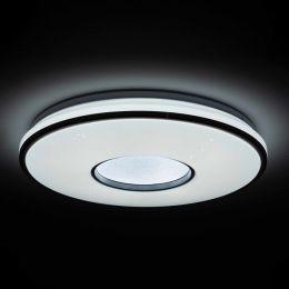 MegaLight LED Glitzer-/ Sternenleuchte SHINING SILVERSTAR 24W mit 4 Stufen DIM Ø490mm