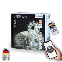 MegaLight Smart LED Strip WHITE 827-860 24W 5000mm DIM inkl. Fernbedienung