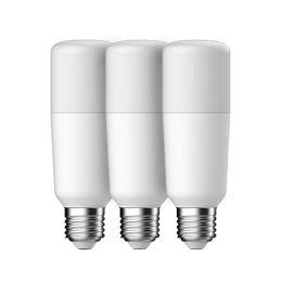GE LED Röhrenform BRIGHT STIK 6W (40W) E27 830 240° NODIM matt 3er Pack