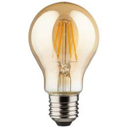 Müller-Licht goldene Retro LED Birnenlampe 4,5W (36W) E27 NODIM