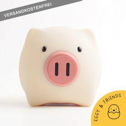 MegaLight LED Kinder-Nachtlicht PIGGY PIG dimmbar mit Lichttemperaturwechsel