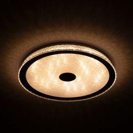 Megalight LED Wand-/ Deckenleuchte SHINING MAGIC WHITE 40W Lichttemperaturwechsel + Sleeptimer + Fernbedienung Ø500mm DIM