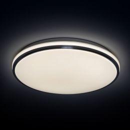 MegaLight LED Wand-/ Deckenleuchte SHINING FRAME ALU 18W 840 Ø330mm NODIM