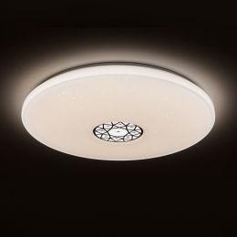 MegaLight LED Leuchte SHINING ORIENTAL-ORNAMENT 60W mit Lichttemperaturwechsel + Sleeptimer + Fernbedienung Ø760mm