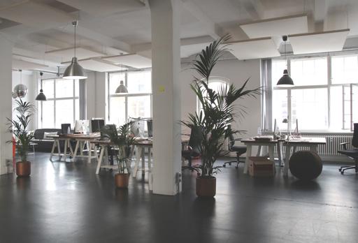 Beleuchtung im Büro