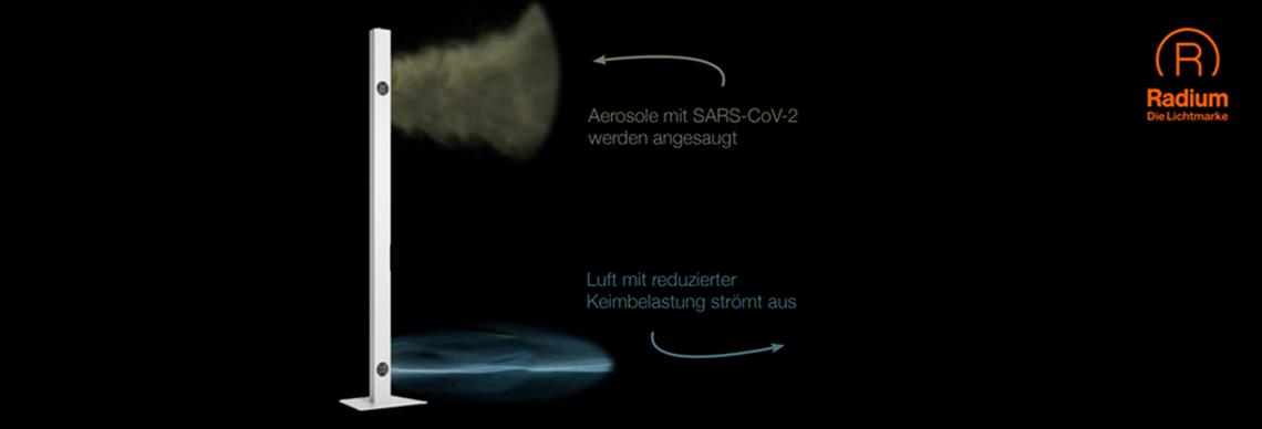 Ralux UV-C Entkeimungsgerät Desinfektionsgerät Luftreiniger