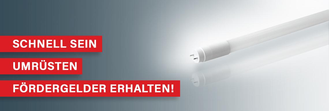 Ende der Leuchtstofflampe und Halogenlampe