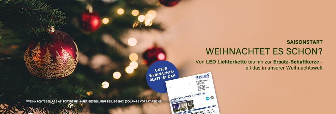 Weihnachtliches Licht online bei Hans Raum kaufen
