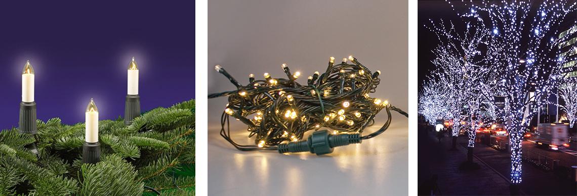 Lichterketten für innen und außen online kaufen